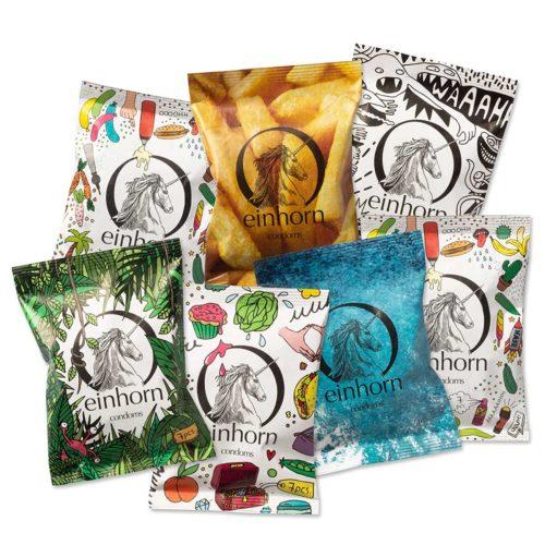 Jahresvorrat Kondome von Einhorn