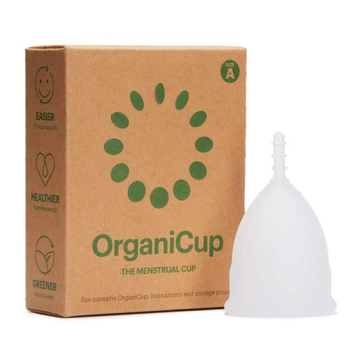 OrganiCup Menstruationstasse