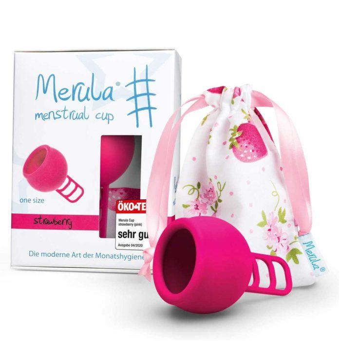 Merula Cup pinke Menstruationstasse